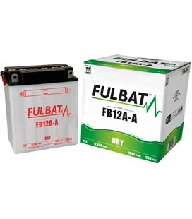 BATERIA FULBAT YB12A-A (ACID PACK INCLUDED)
