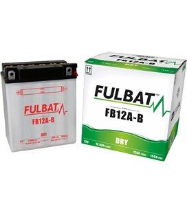 BATERIA FULBAT YB12A-B (ACID PACK INCLUDED)