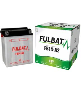 BATERIA FULBAT YB14-A2 (ACID PACK INCLUDED)