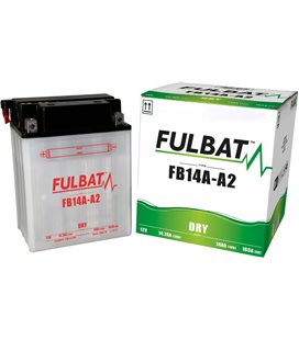 BATERIA FULBAT YB14A-A2 (ACID PACK INCLUDED)