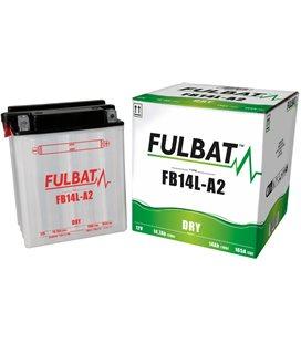 BATERIA FULBAT YB14L-A2 (ACID PACK INCLUDED)