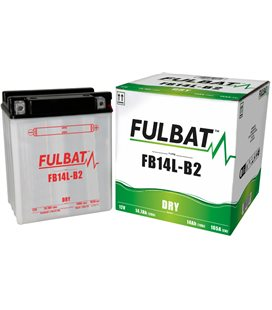 BATERIA FULBAT YB14L-B2 (ACID PACK INCLUDED)