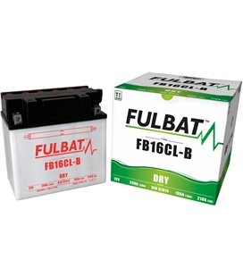 BATERIA FULBAT YB16CL-B (ACID PACK INCLUDED)