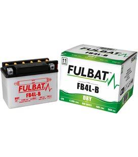 BATERIA FULBAT YB4L-B (ACID PACK INCLUDED)