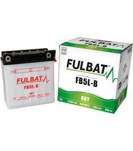 BATERIA FULBAT YB5L-B (ACID PACK INCLUDED)