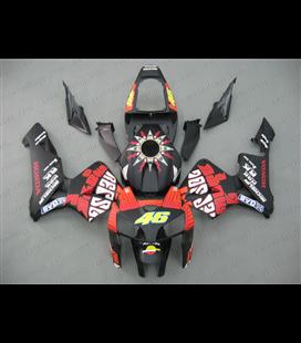 Carenado Honda CBR Rosi negro mate