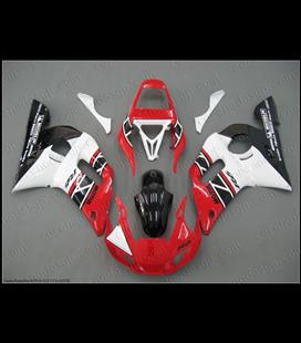 Carenado Yamaha R6 Rojo y blanco