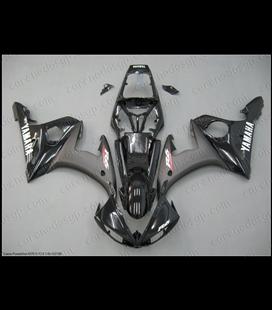 Carenado Yamaha R6 Negro brillo y mate