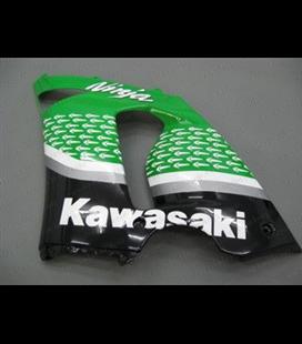 Carenado Kawasaki ZX6R 636 05-06 Verde 2
