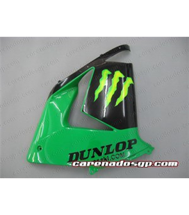 Carenado Kawasaki ZX10R 04 05 Monster Verde