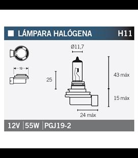 LÁMPARA OSRAM H11 64211