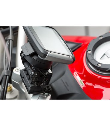 DUCATI MULTISTRADA 1200 / 950 / 1260 SOPORTE DE GPS QUICK-LOCK NEGRO