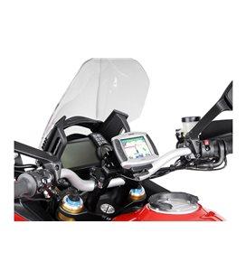 DUCATI MULTISTRADA 1200 / S (10-14) SOPORTE DE GPS QUICK-LOCK NEGRO