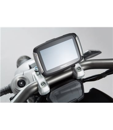 DUCATI XDIAVEL/S (16-) SOPORTE DE GPS QUICK-LOCK NEGRO