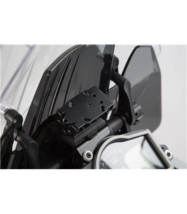 KTM 1290 SUPER ADVENTURE (14-) SOPORTE DE GPS QUICK-LOCK NEGRO