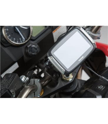 SUZUKI V-STROM 650 (17-) / 1000 (14-16) SOPORTE DE GPS QUICK-LOCK NEGRO