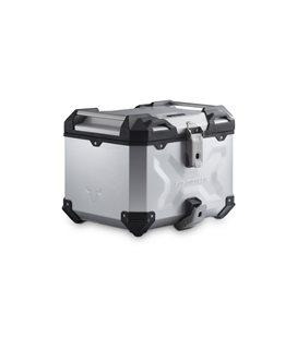 HONDA CB500X (13-), CB500F (-16),CBR500R (-15) TRAX ADV TOP CASE SYSTEM SILVER