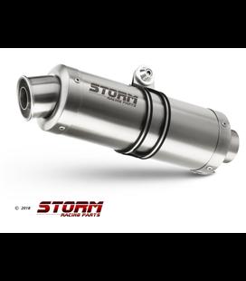 HONDA CB 650 F 2014 - 2018 LINEA COMPLETA STORM GP INOX