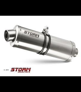 HONDA CBR 900 RR 2000 - 2001 ESCAPE STORM OVAL INOX
