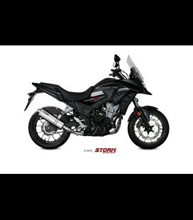 HONDA CB 500 X 2017 - ESCAPE STORM OVAL INOX
