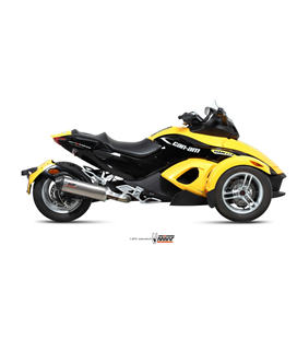 CAN-AM SPYDER 1000 2007 - 2016 OVAL TITANIO COPA CARBONO MIVV