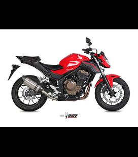 HONDA CB 500 F 2016 - 2018 SUONO INOX COPA CARBONO MIVV