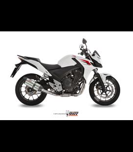 HONDA CB 500 F / X 2013 - 2015 SUONO INOX COPA CARBONO MIVV