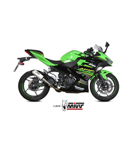 KAWASAKI NINJA 400 2018 - MK3 INOX/ST. STEEL MIVV