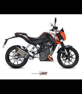 KTM 125 DUKE 2011 - 2016 SUONO INOX COPA CARBONO MIVV