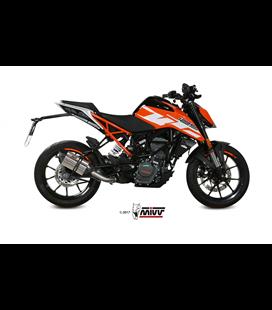 KTM 125 DUKE 2017 - SUONO INOX COPA CARBONO MIVV
