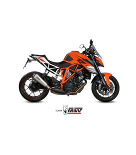 KTM 1290 SUPERDUKE 2014 - 2019 DELTA RACE INOX COPA CARBONO MIVV