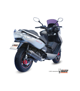 KYMCO XCITING 300 2007 - 2014 STRONGER BLACK MIVV