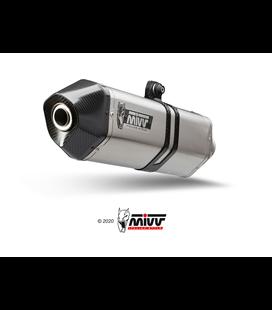 SUZUKI DL V-STROM 650 2012 - 2016 SPEED EDGE INOX COPA CARBONO MIVV