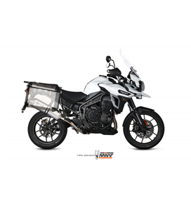 TRIUMPH TIGER 1200 XR / XRX / XRT / XCX / XCA 2016 - SPEED EDGE INOX COPA CARBONO MIVV