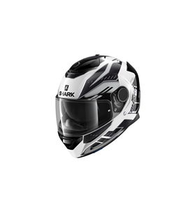 SHARK SPARTAN 1.2 ANTHEON BLANCO PLATA NEGRO