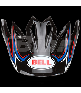 VISERA BELL MOTO-9 AIRTRIX SHARDS NEGRO / AZUL