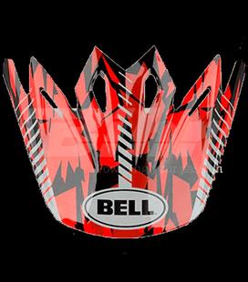 VISERA BELL MOTO-9 CAMO ROJO