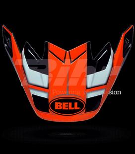 VISERA BELL MOTO-9 CARBON FLEX FACTORY NARANJA / NEGRO