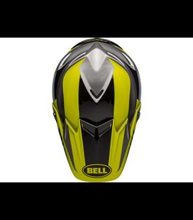 VISERA BELL MOTO-9 FLEX DIVISION NEGRO/A.FLÚOR/GRIS