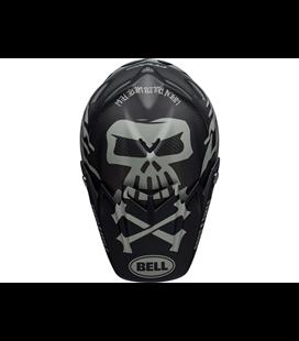 VISERA BELL MOTO-9 FLEX FASTHOUSE WRWF NEGRO/BLANCO/GRIS