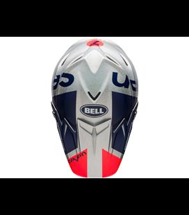 VISERA BELL MOTO-9 FLEX GALAXY AZUL/PLATA