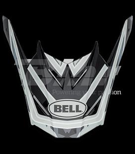 VISERA BELL SX-1 WHIP CAMO NEGRO / GRIS