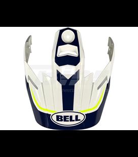 VISERA CASCO BELL MX-9 ADVENTURE TORCH BLANCO/AZUL/AMARILLO