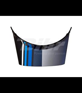 VISERA CASCO BELL MOTO-3 STRIPES NEGRO/AZUL