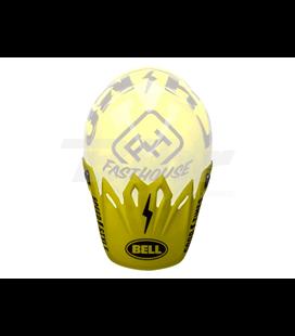 VISERA CASCO BELL MOTO-9 FASTHOUSE NEGRO/AMARILLO