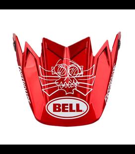 VISERA CASCO BELL MOTO-9 FLEX FASTHOUSE DID ROJO/AZUL