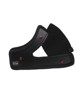 CARRILLERAS BELL MOTO-3 COLOR NEGRO