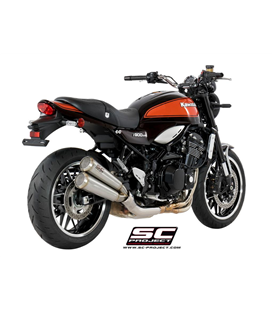 KAWASAKI Z 900 RS (2018 - 2021) - CAFE TWIN CONIC 70'S SILENCIADOR DOBLE SUPERPOSICIÓN SC PROJECT