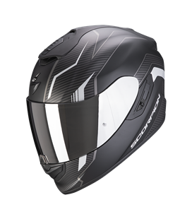 SCORPION EXO 1400 AIR FORTUNA NEGRO Y PLATA