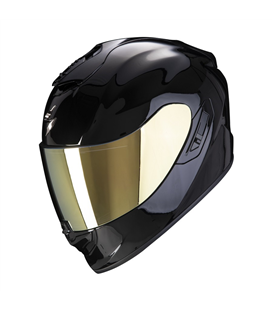 SCORPION EXO 1400 SOLID NEGRO BRILLO